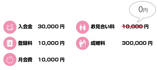 イルカ結婚相談所の料金表