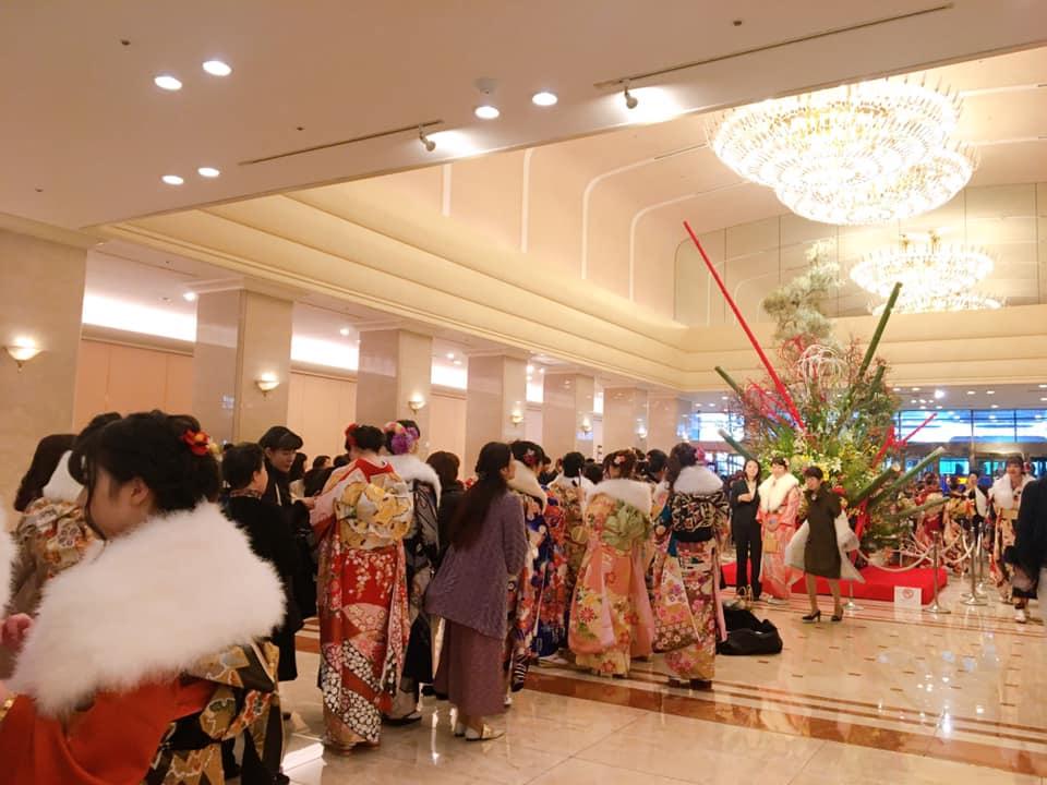 京王プラザホテル成人式