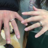 ふたりの結婚指輪