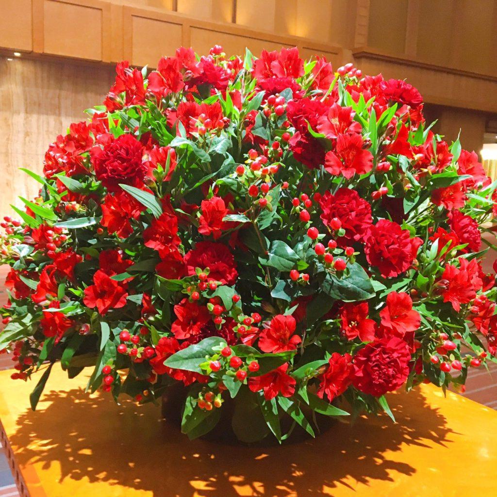 帝国ホテルの花